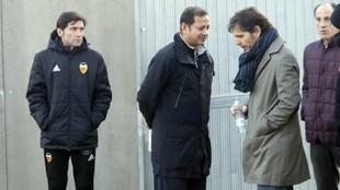 Marcelino, Anil Murthy, Mateo Alemany y Voro.