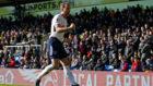 Kane celebra el gol del triunfo ante el Palace.