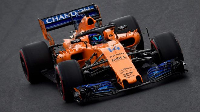 Alonso, Hamilton y Sainz, los mejores tiempos de la tarde 15196635545497