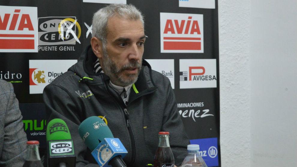 Quino Soler, en su despedida