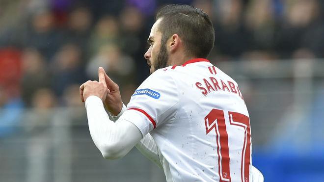 Sarabia, mucho fútbol y mucho gol