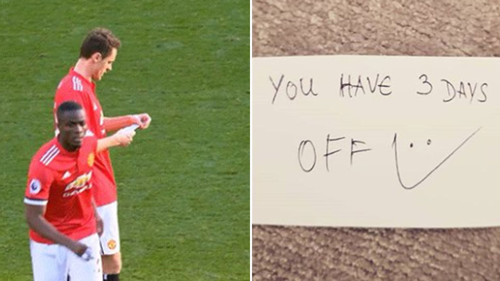 Matic reveals mysterious note from Mourinho during United ...