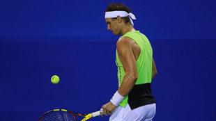 Rafael Nadal en el Abierto Mexicano de Tenis del año pasado.