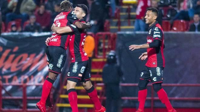 Xolos celebra el gol ante Motagua