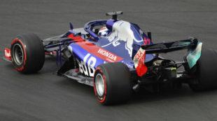 Pierre Gasly, con el Toro Rosso.