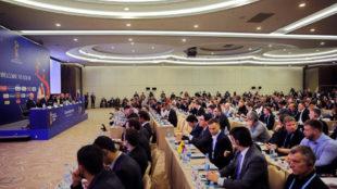 Imagen de la sesión informativa de la FIFA celebrada en Sochi.