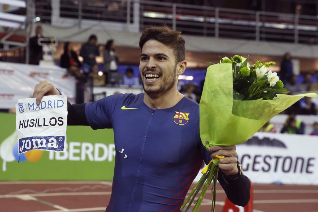 Óscar Husillos celebra el triunfo en el Nacional