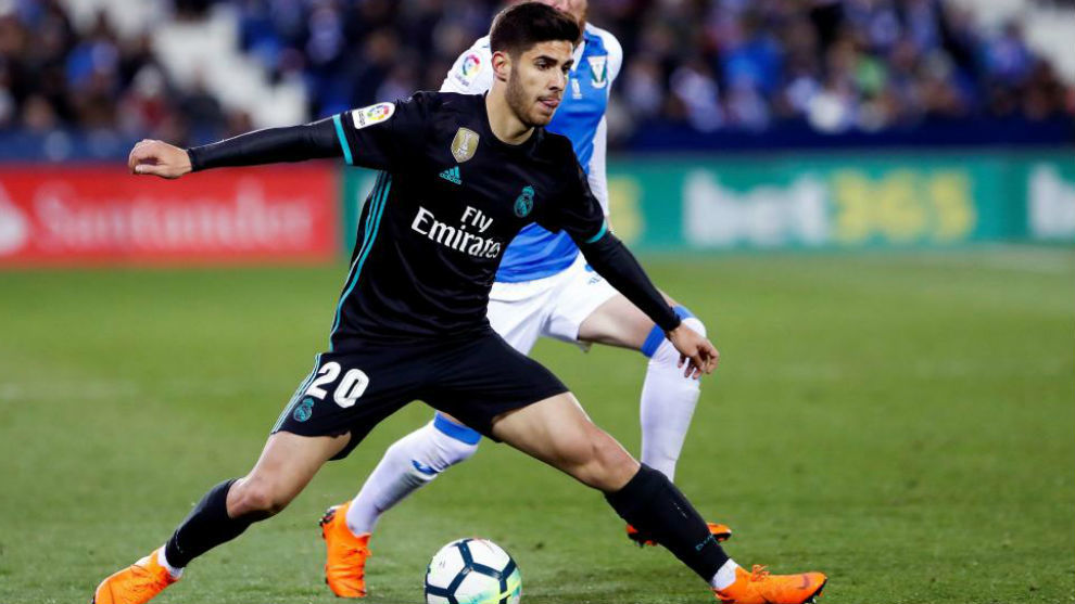 ahorrar guapo muchos estilos Real Madrid: Asensio: I always try with everything I have ...