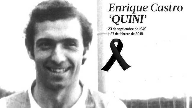 Muere Enrique Castro Quini a los 68 años