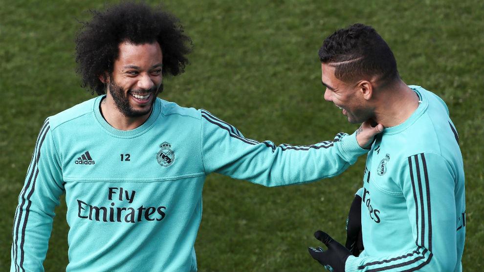 Marcelo ya se entrena con el grupo