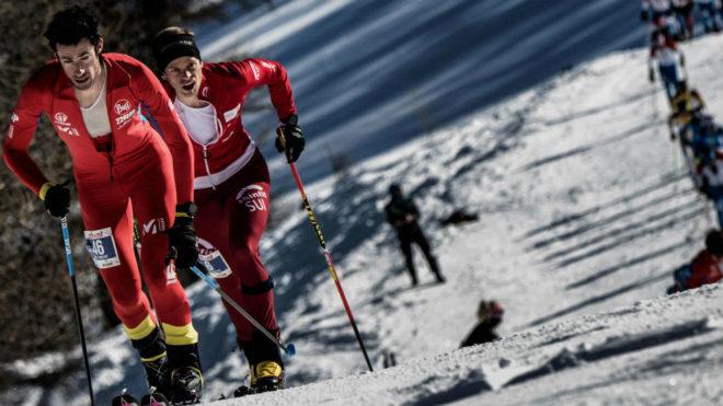 Kilian Jornet, en una prueba de la Copa del Mundo de esquí de...