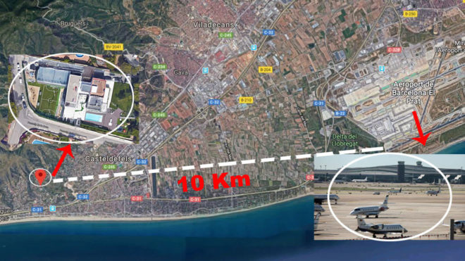 Vueling On Airport Development: It Is Not Permitted To Pass By Where Messi  Lives