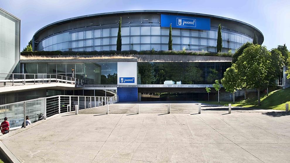 Vista del pabellón multiusos Madrid Arena