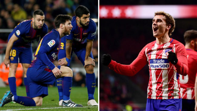 Barcelona vs Atletico: LaLiga title race is very much alive