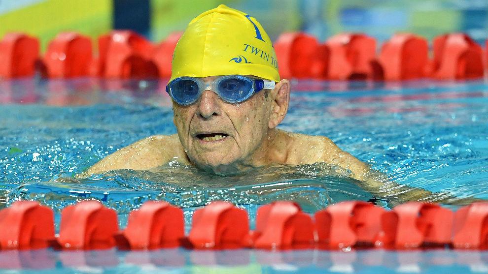 George Corones, el australiano que batió el récord mundial de 50...