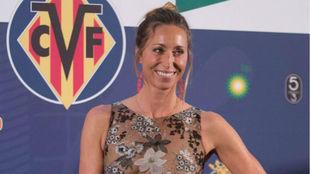 Gemma Mengual en la Gala Nacional del Deporte.