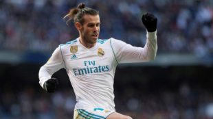 Gareth Bale, the British player with most games in LaLiga