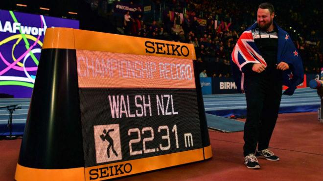 Tom Walsh, tras ganar el oro.