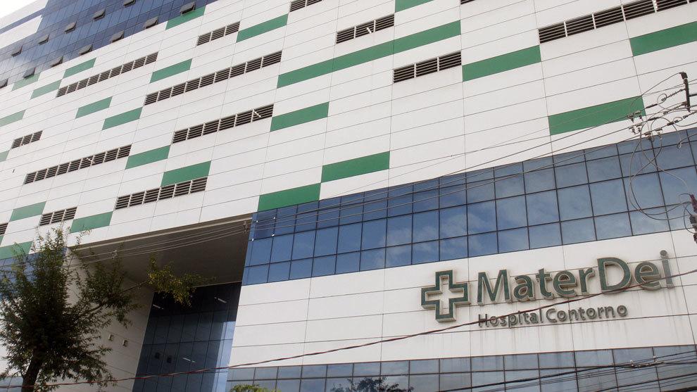 Hospital donde fue operado Neymar.