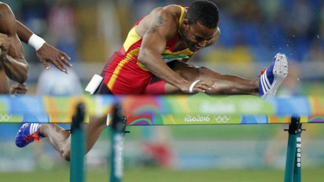 Yidiel Contreras en los Juegos de Río.