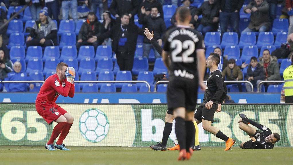 Коваль получил прямую красную карточку в дебютном матче за Депортиво - изображение 1