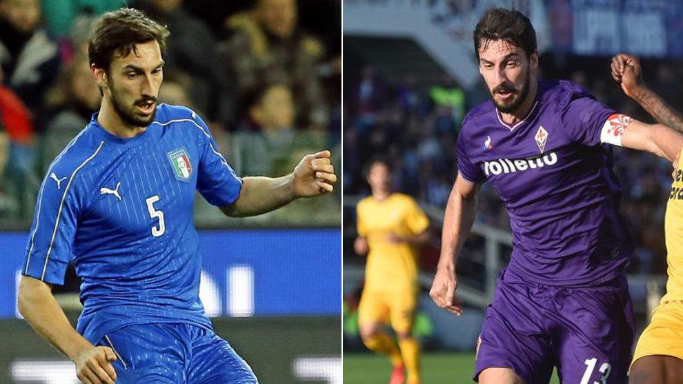 Seria A - Fiorentina: Davide Astori, captain of Fiorentina ...