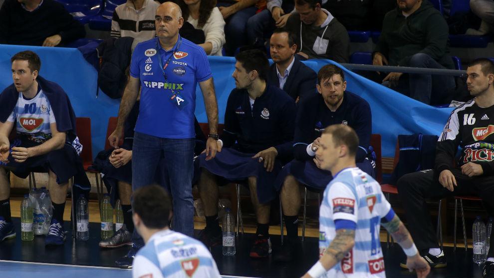 Juan Carlos Pastor, entrenador del Szeged.