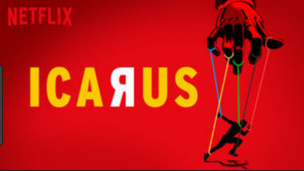 Cartel del documental Icarus