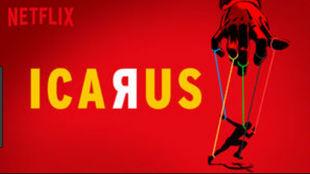 Cartel del documental Icarus
