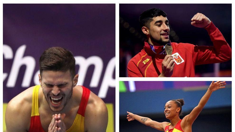 Los tres atletas fueron protagonistas en Radio MARCA
