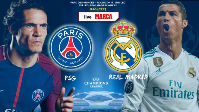 Champions League Psg Vs Real Madrid Psg Vs Real Madrid The Kings