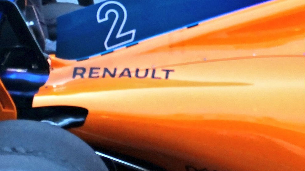 Estas son las cuatro aberturas que presenta hoy el coche que pilota...