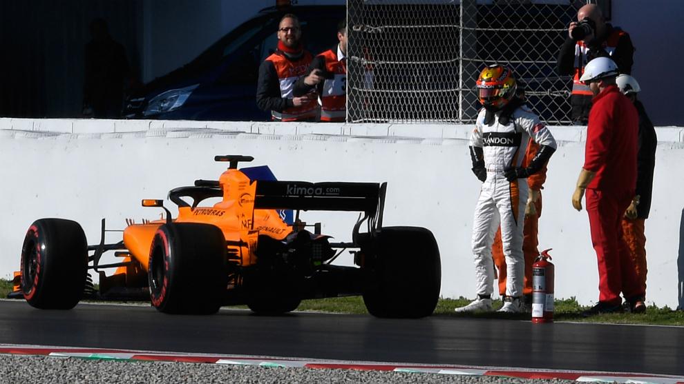 Alonso, Hamilton y Sainz, los mejores tiempos de la tarde 15203567050413
