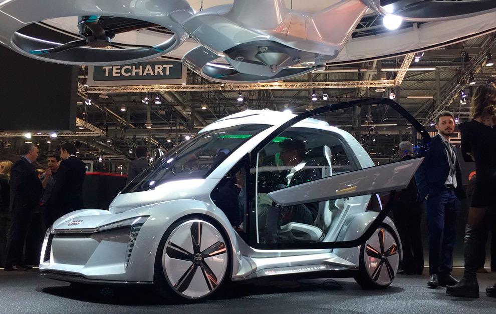Es un proyecto conjunto con Airbus e Italdesign para crear un dron...