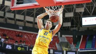 Xavi Rabaseda fue uno de los mejores del Gran Canaria