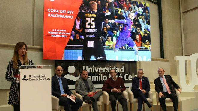 Presentación de la Copa del Rey en el campus Almagro de la UCJC