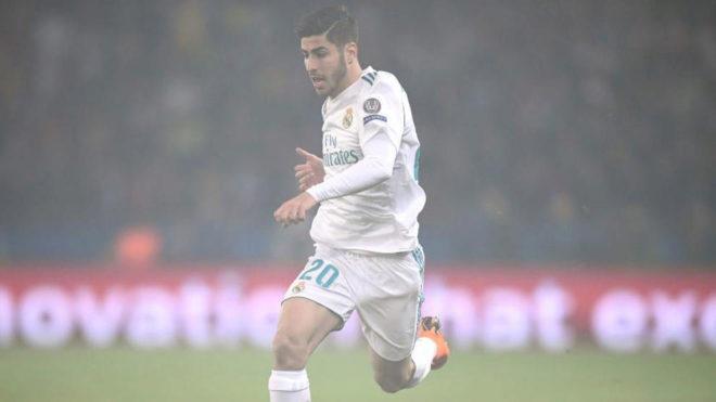 f459572baa4a6 PSG vs Real Madrid  Uno a uno del Real Madrid vs PSG  Asensio fue el ...