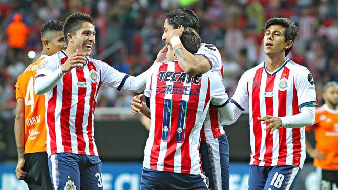 Las Chivas superaron al Cibao en Concachampions.