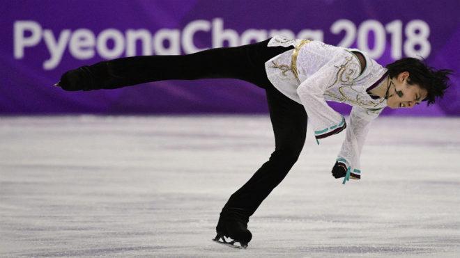 Yuzuru Hanyu, en los Juegos.