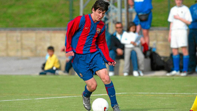 Where It All Began For Messi  Years Since His Barca Infantil B Debut