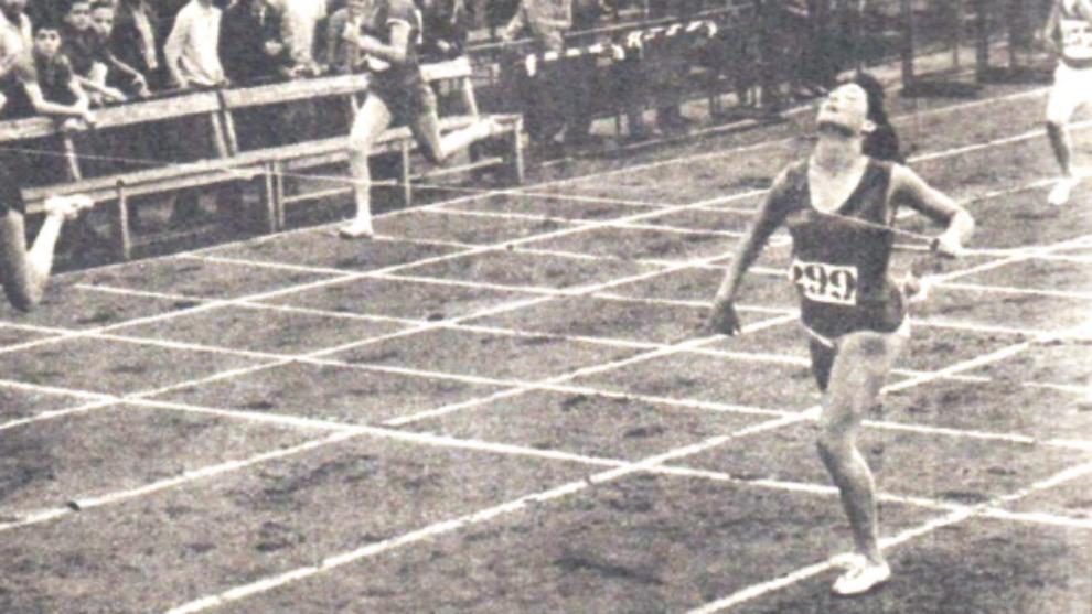María Luisa Consegal gana los 100 metros lisos