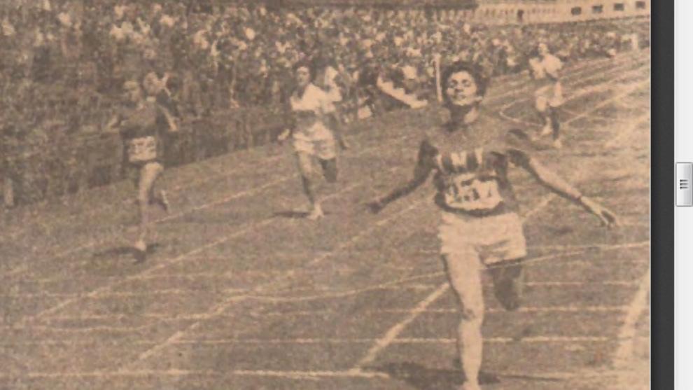 Ana Maria Gibert gana los 200 metros