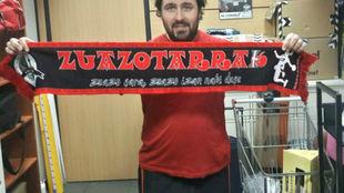 Aritz Álvarez, el nuevo técnico del Zuazo