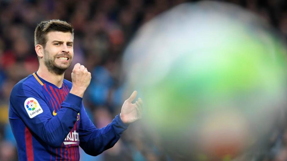 El Barcelona está jugando con fuego con Gerard Piqué. El central catalán  lleva participando con molestias desde principios de febrero 064b0af5695b2