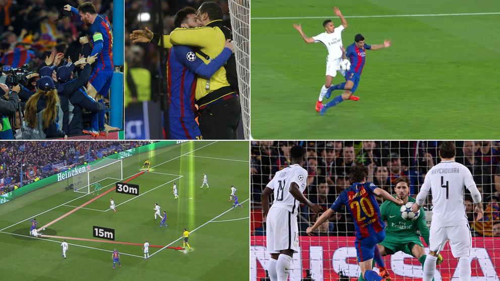 88c7939b23b3e Champions League  10 vídeos para revivir el milagro del Barcelona ...