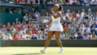Serena Williams en Wimbledon.