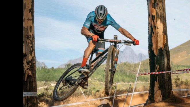 Carlos Coloma, en el circuito de Sudáfrica.