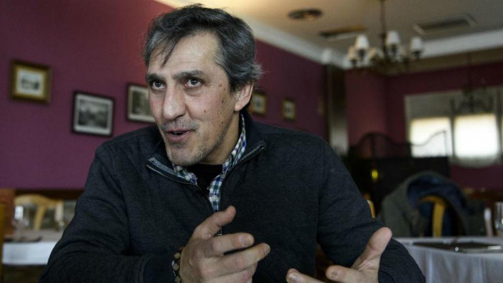 Pepe Murcia, durante una entrevista con MARCA.