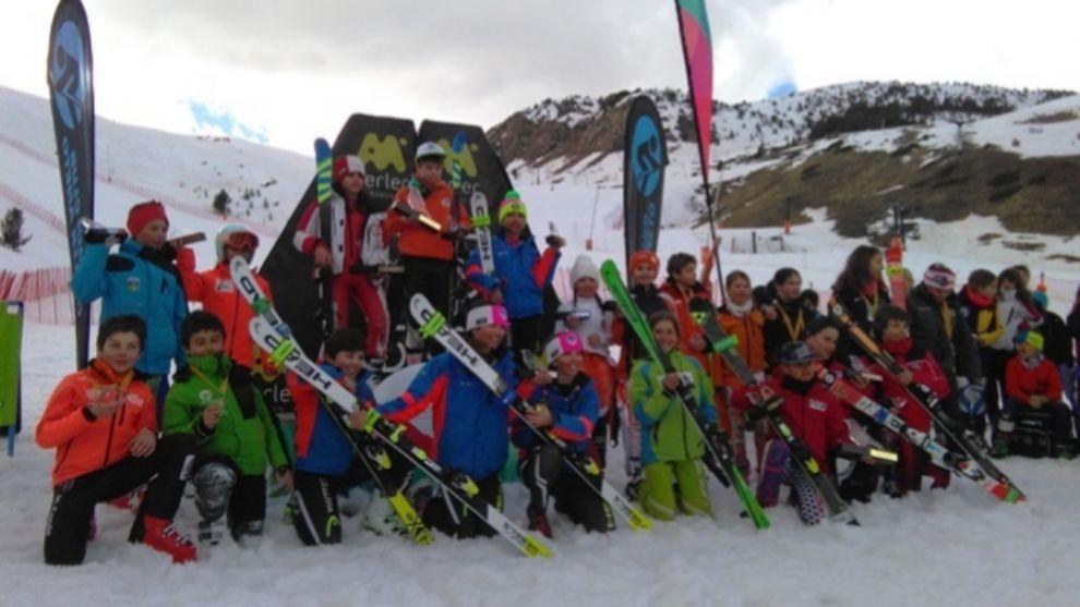 La Pitarroy de Aramón Cerler reúne otro año a más de 300 niños