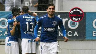 Briseño, en el partido contra el Boavista.
